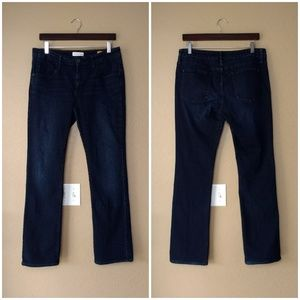 Pilcro and the Letterpress Slim Boot Cut Jeans